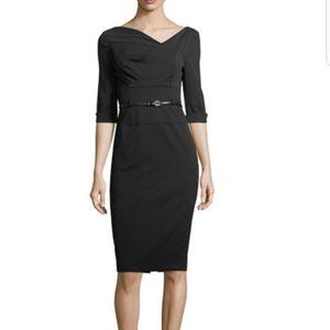 """Black Halo """"Jackie"""" 3/4 sheath dress"""